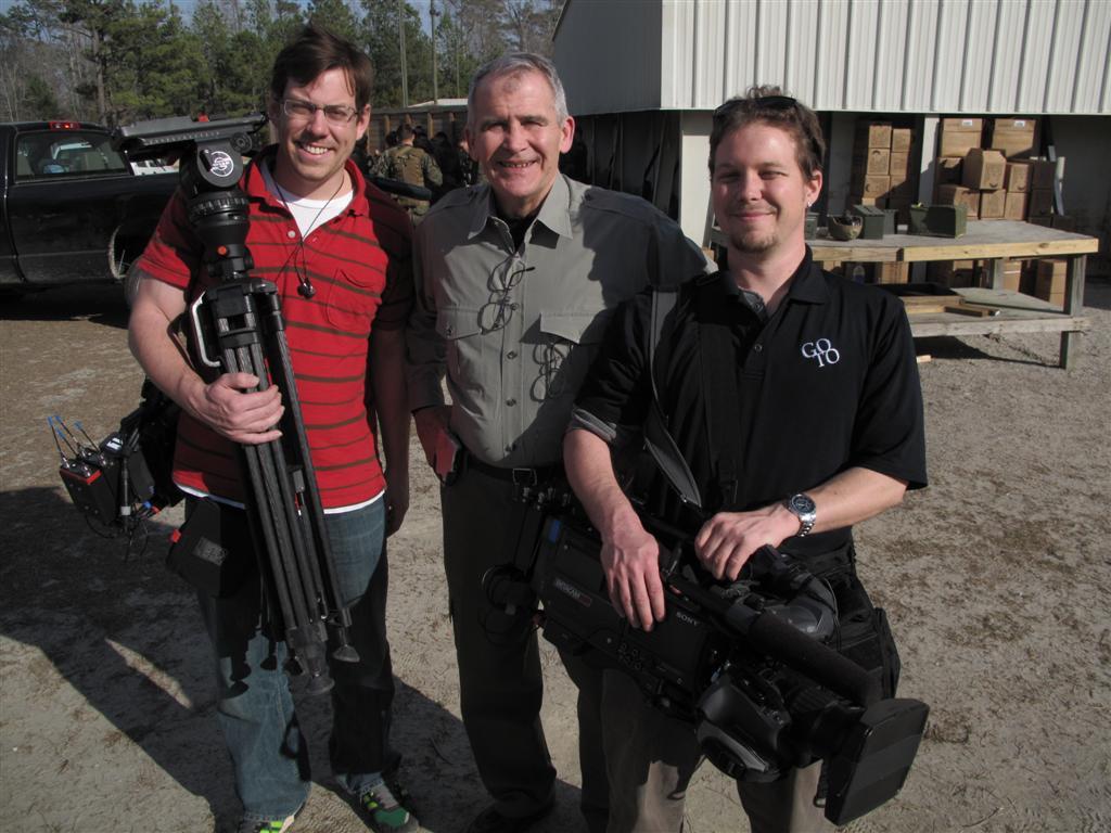 "dave jimmy ollie GTT Video Crews Tell ""War Stories"" from Camp Lejeune, North Carolina"