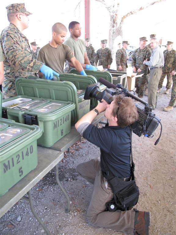 "dave marines GTT Video Crews Tell ""War Stories"" from Camp Lejeune, North Carolina"
