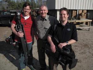 "dave jimmy ollie 300x225 GTT Video Crews Tell ""War Stories"" from Camp Lejeune, North Carolina"