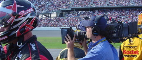FoxSportsVideoCrew Behind the Scenes of NASCAR