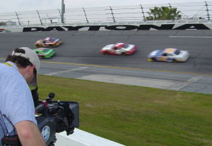FoxSportsVideoCrew00 Behind the Scenes of NASCAR