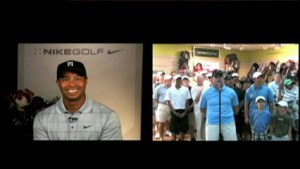 tigercamstill 300x169 Live from Orlando   Tiger Talks   Woods goes on the web!