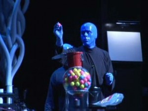 bluemangroup 300x225 Blue Man Group Video Production   Behind the Scenes at Universal Studios Orlando, Florida