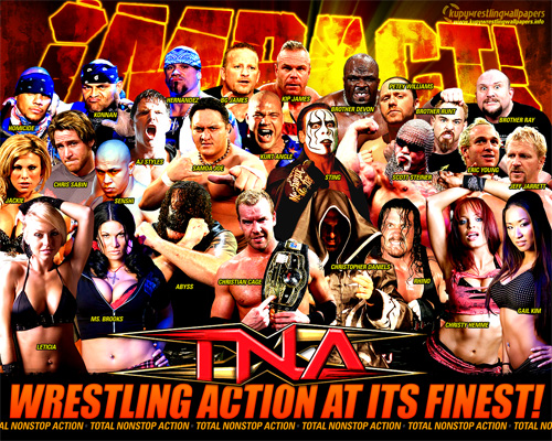 TNA impact wrestlers knockouts wallpaper preview TNA Wrestling Tackles Halloween Horror Nights