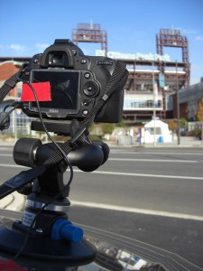 Setting Up For The Time Lapse