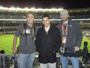 Dan, Josh, And Skip After Game Six