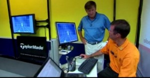 Craig and Eric check out the computer's data