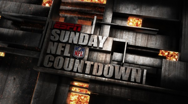 SundayNFLCountdown1 600x334 Go To Team travels to Arkansas for ESPN