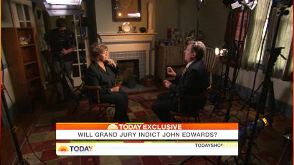 Edwards Blog 2 Raleigh Crew Shoots Exclusive on John Edwards for Today Show
