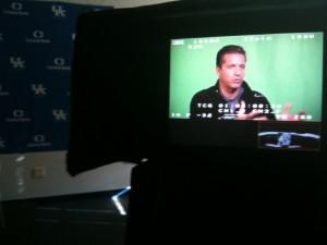 Coach John Calipari - University of Kentucky