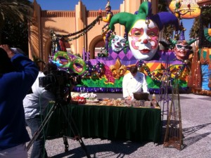 photo20 300x225 Beckmann Crew Helps Kick off Fat Tuesday at Universal Orlando Resort