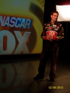 NASCAR Driver on the Fox Sports Video