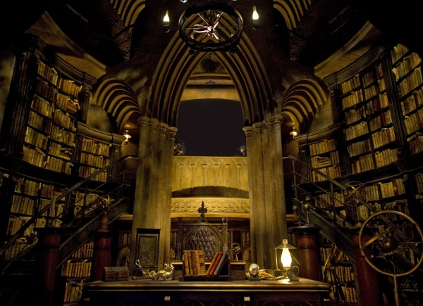 Dumbeldore's Office - Inside Hogwarts Castle