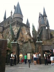 Hogwarts Castle welcomes guests