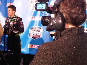 IMG00507 20110210 1250 300x225 Orlando DP Goes Live with Turner Sports For NASCAR Media Day