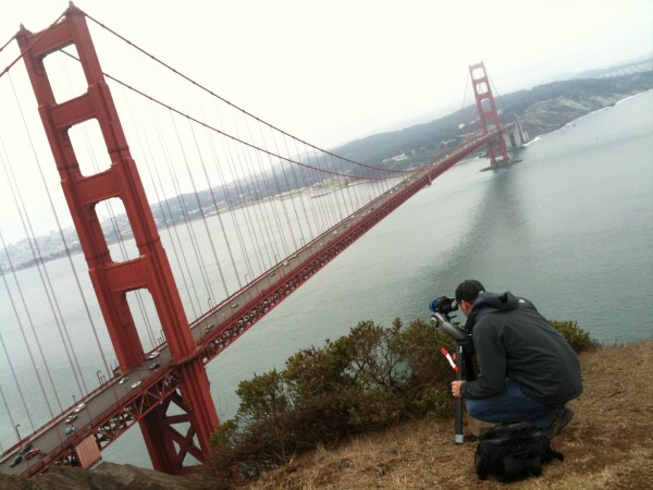 Setting The Shot At The Golden Gate