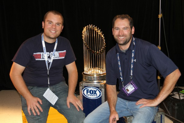 IMG 9194 600x400 The World Series for Fox Sports... Does it get any better?