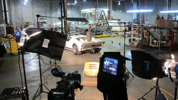 IMG 1365 600x336 Nashville Crew Shoots Interview with Edsel Ford for SPEED