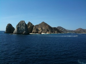 The Baja Peninsula - Arches, Cabo San Lucas, Mexico.  Beckmann shooting from deck 4 of the Disney Wonder