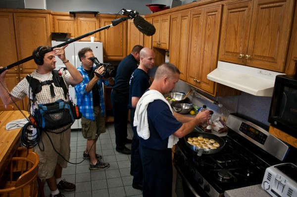 photo28 600x398 Orlando Crew Cooks With The Cooke's For Rachael Ray