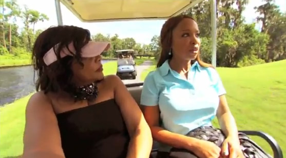 Jamie Foster and Elise Neal