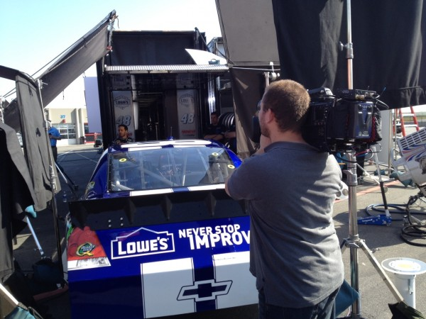 "photo 14 600x450 Nashville Crew Goes Behind the Scenes with ""The Champ"""