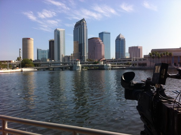 photo37 600x448 Charlotte Crew Travels to Tampa for a SPEED Channel Shoot with NASCAR Driver Kevin Harvick