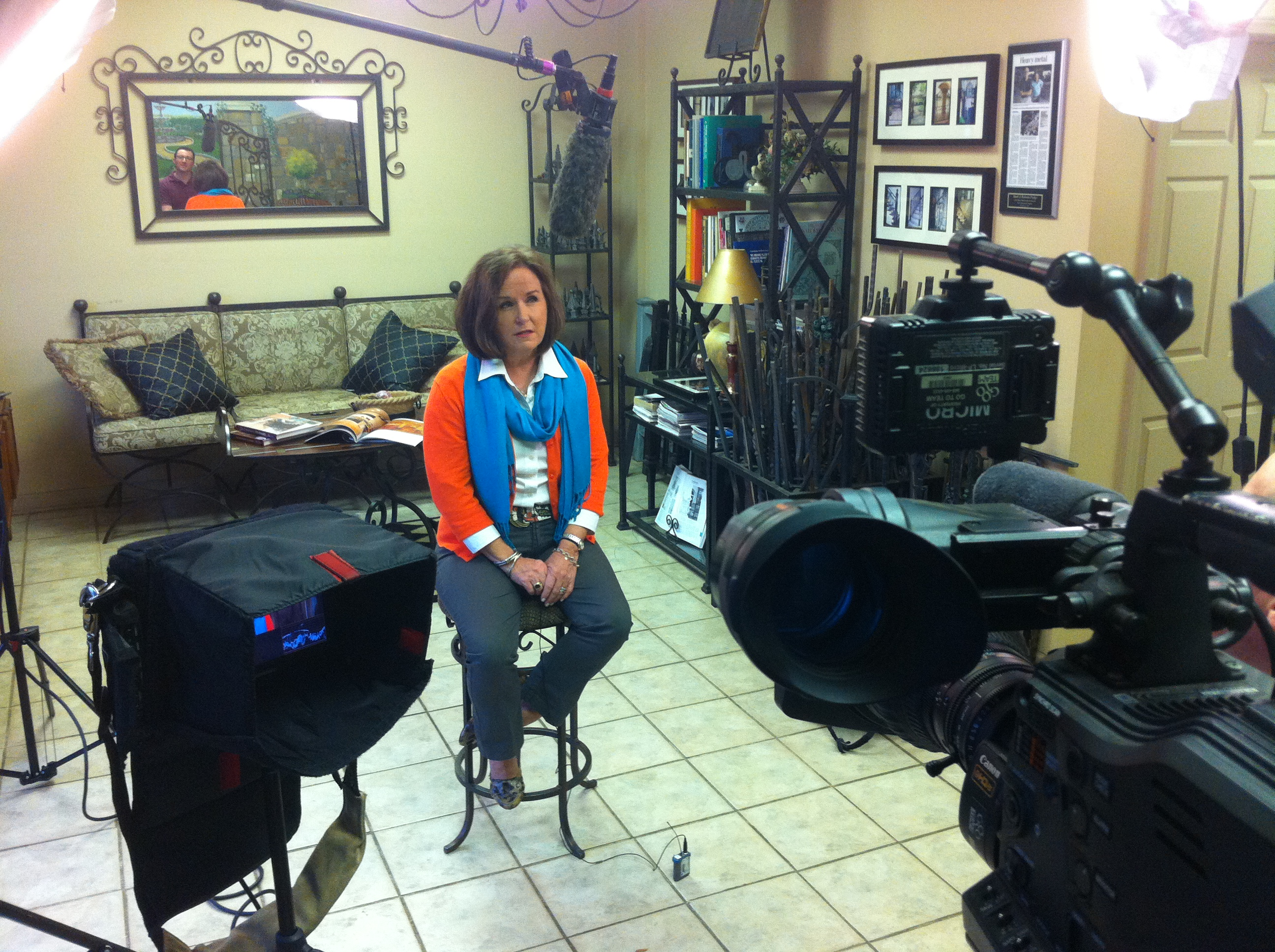 """IMG 2302 Nashville Crew Shoots For MSNBC's """"Your Business"""""""