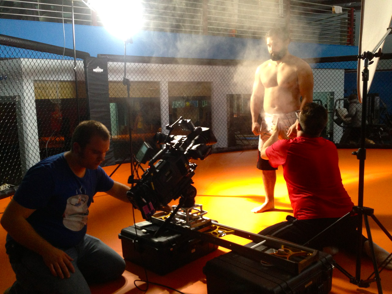 "UFC6 Dallas Crew Shoots for ""Countdown to UFC"""