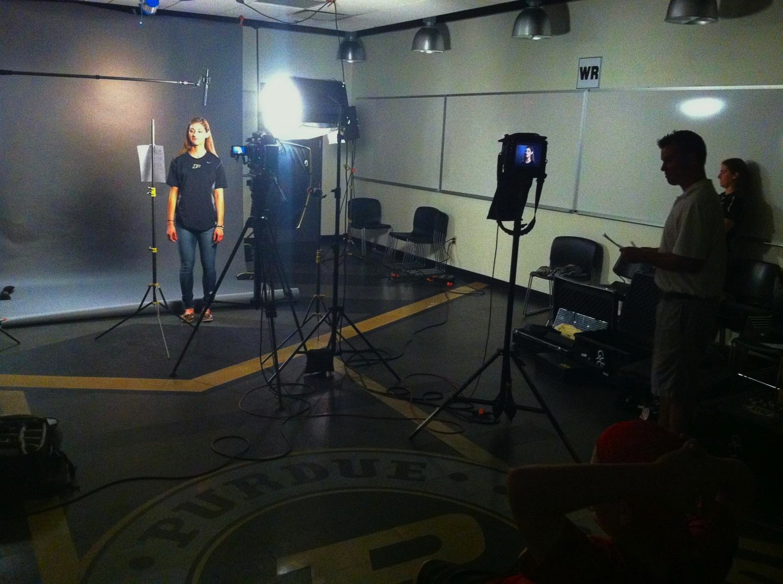 Purdue Chicago & Nashville Crews Shoot in Indiana for Big Ten Network