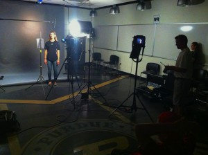 Purdue 300x224 Chicago & Nashville Crews Shoot in Indiana for Big Ten Network