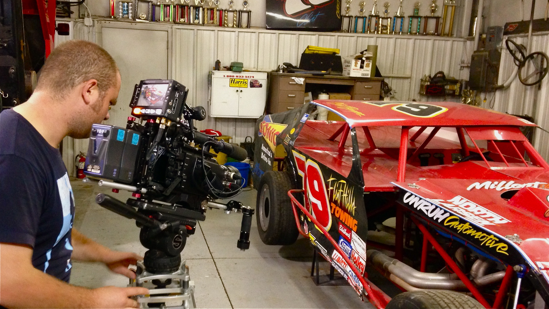 IMG 3381 1 Dallas Crew Shoots SPEED Feature on Clint Bowyer