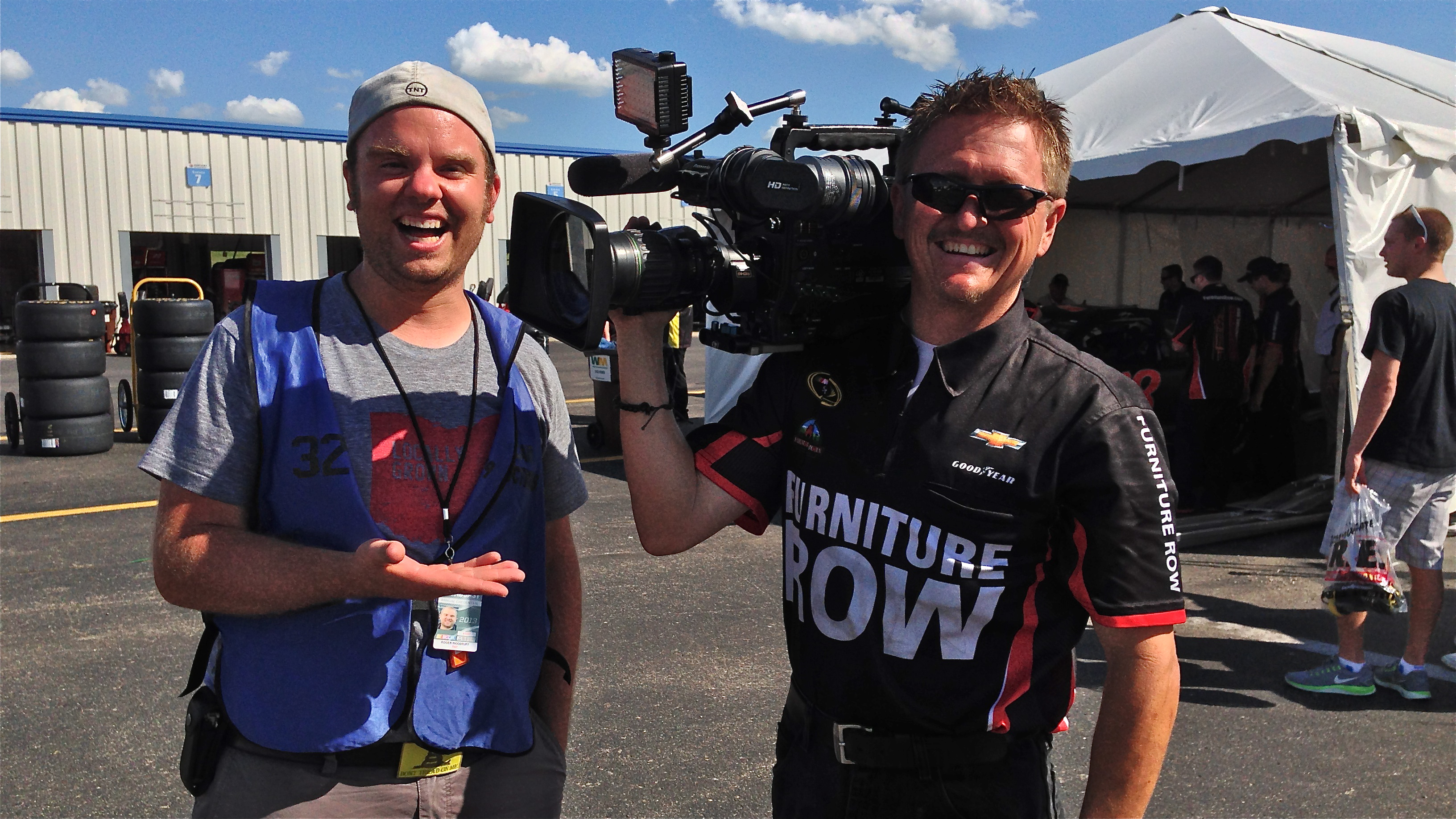 IMG 3947 Dallas & Charleston Crews Hit the Road for TNT's NASCAR Summer Series