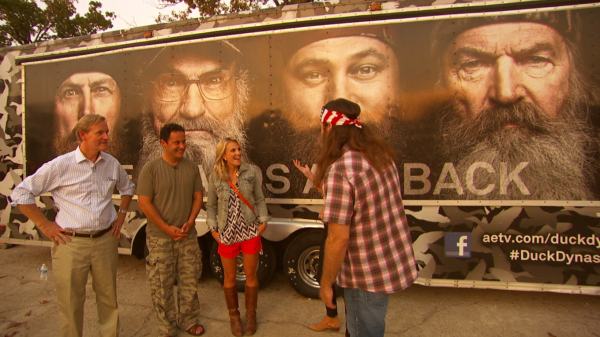 Screen shot 2013 09 01 at 7.07.05 PM 600x337 Dallas Crew Shoots Feature on The Duck Dynasty for Fox & Friends
