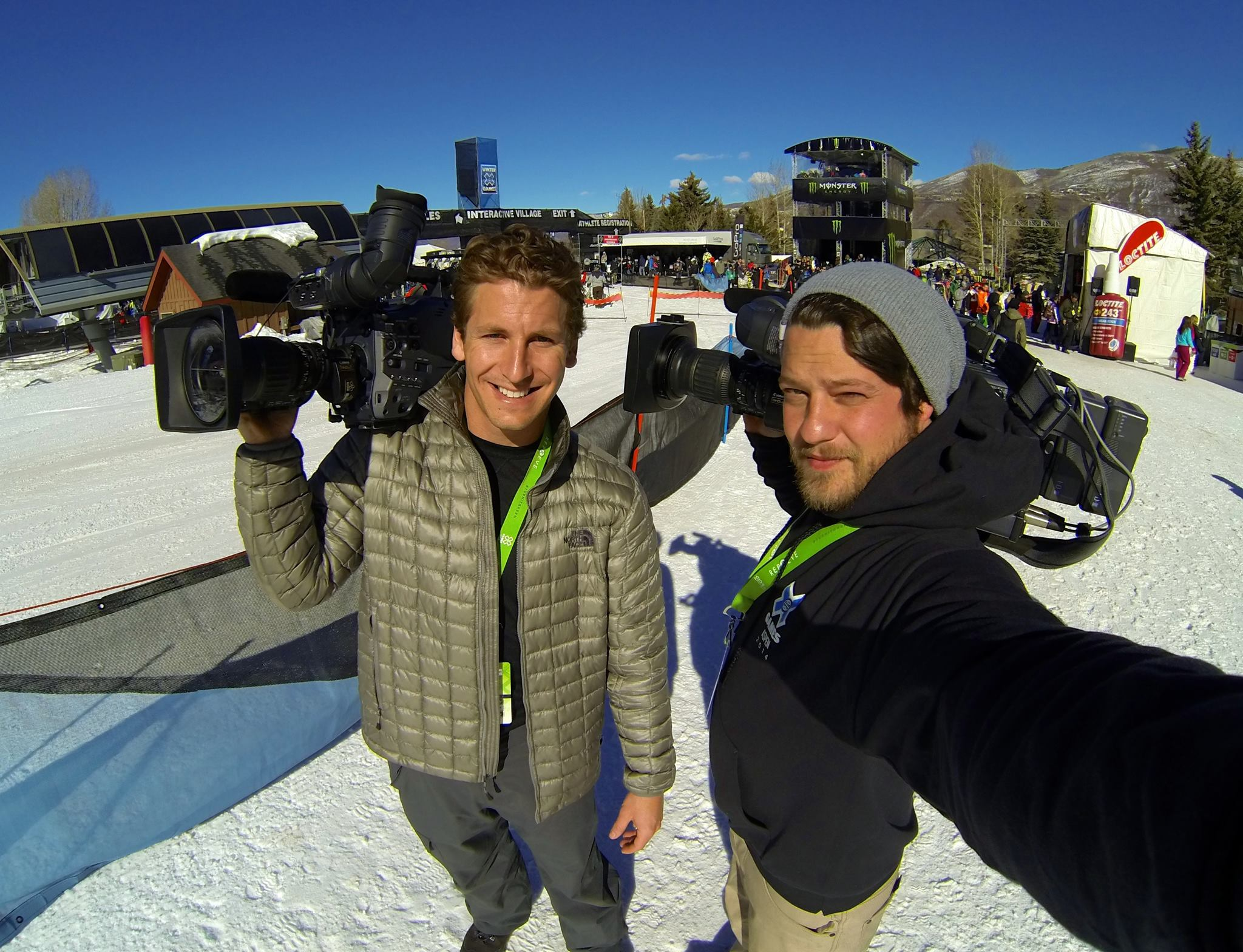 664288 10201453250880002 592005501 o LA and Chicago hit the slopes in Aspen for X Games   and they were stoked.