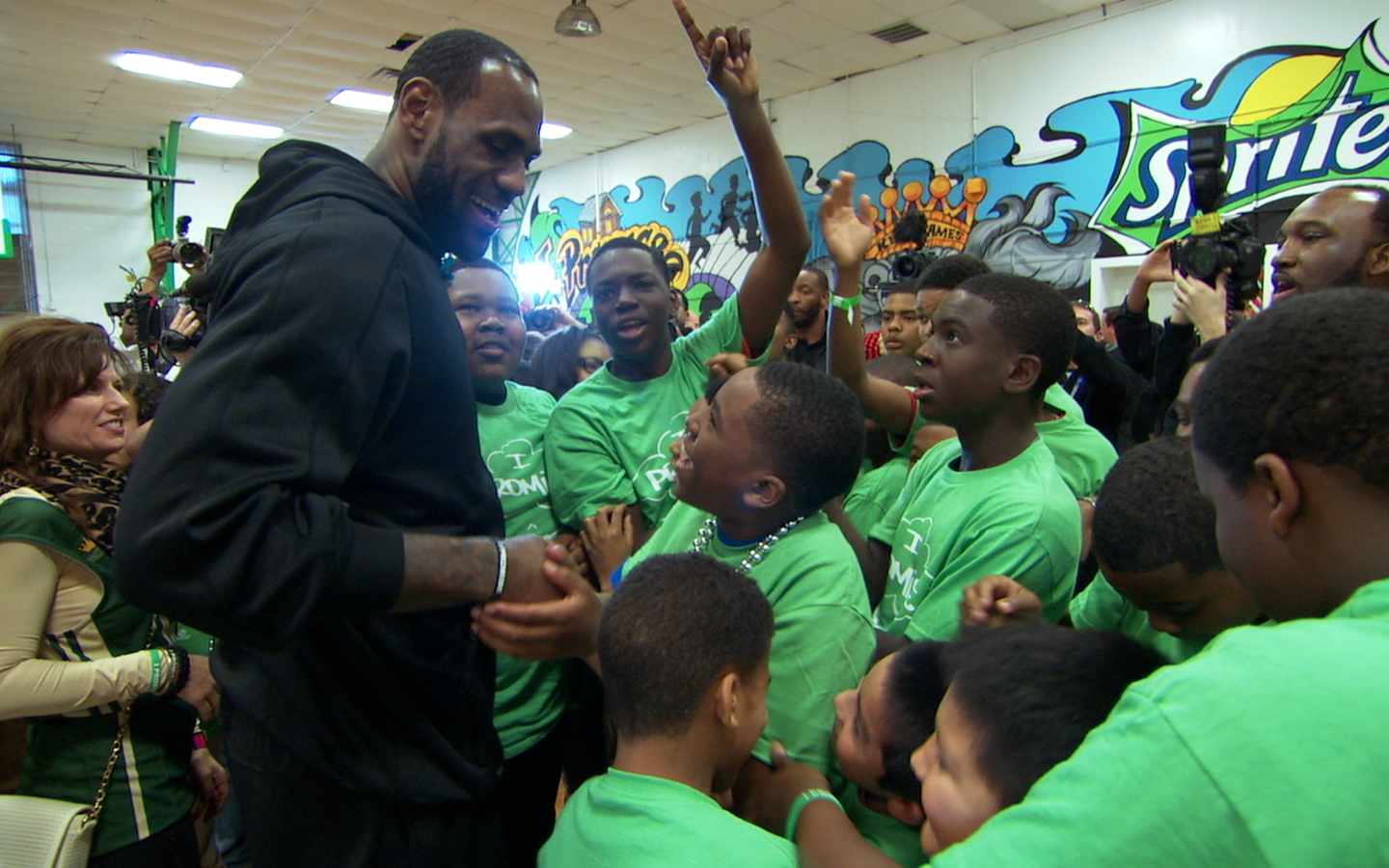 Screen Shot 2014 02 21 at 8.28.56 PM Houston Crew in NOLA with LeBron James for TNT