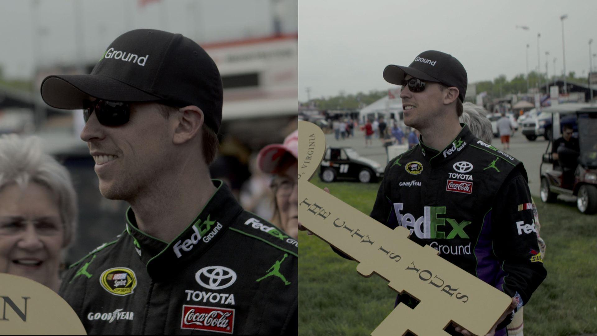 Hamlin DC Crew Hits the NASCAR Track in Richmond
