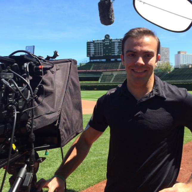 Matt Rossetti3 Chicago Video Crew visits Wrigley Field