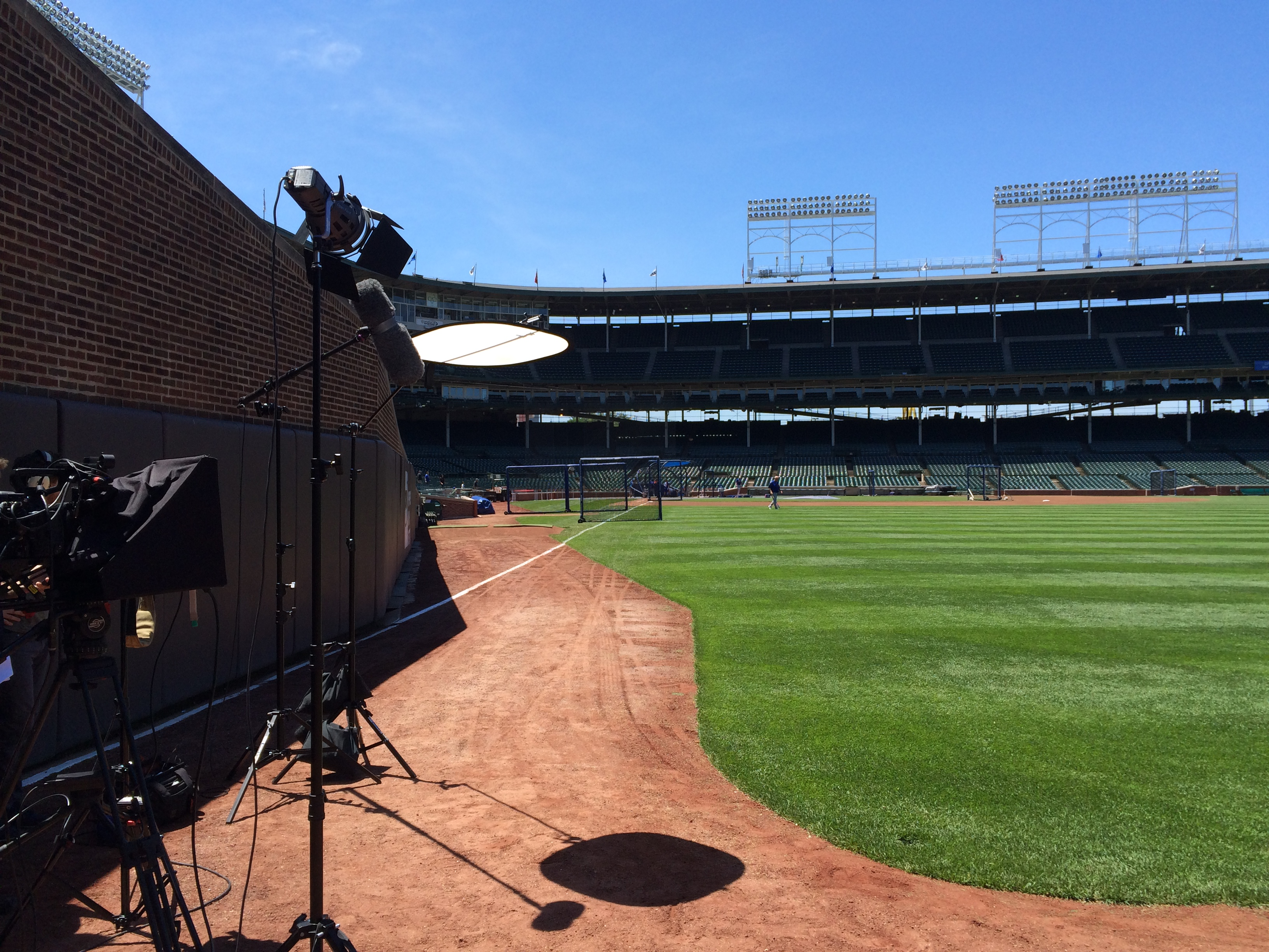 2014 06 05 13.14.11 Chicago Video Crew visits Wrigley Field