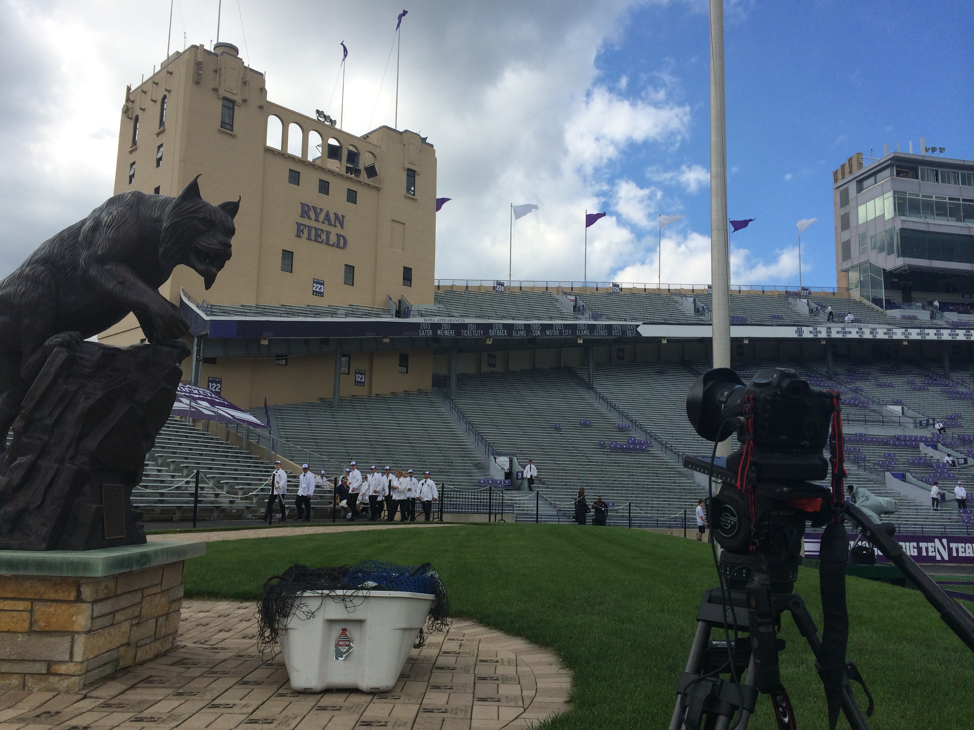 2014 08 30 12.57.46 Chicago Video Crew kicks off College Football Season at Northwestern