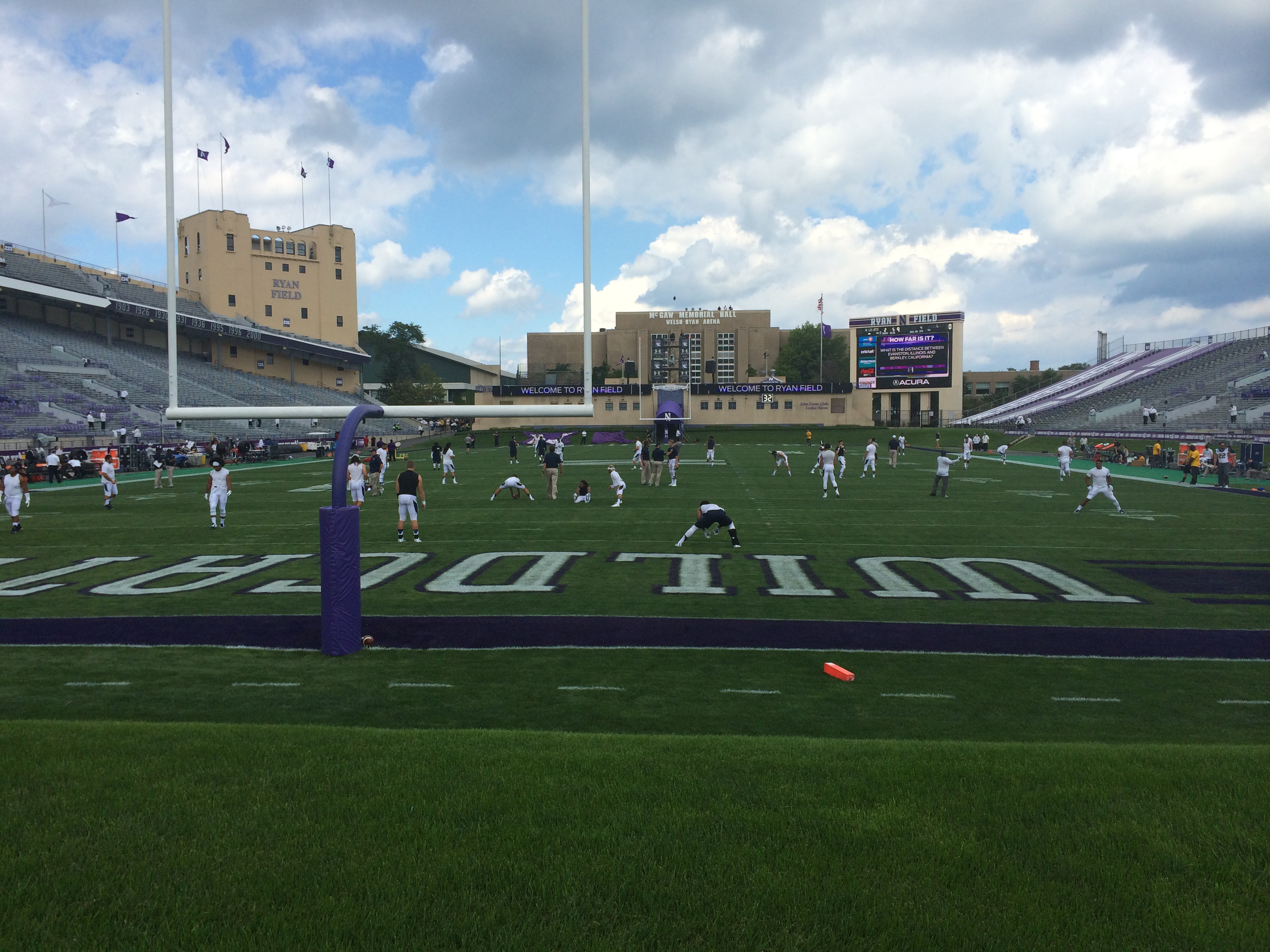 2014 08 30 12.57.27 Chicago Video Crew kicks off College Football Season at Northwestern