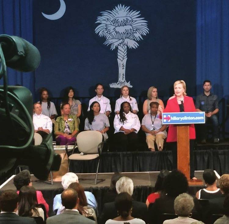 hil Charlotte Crew Covers Clintons Campaign