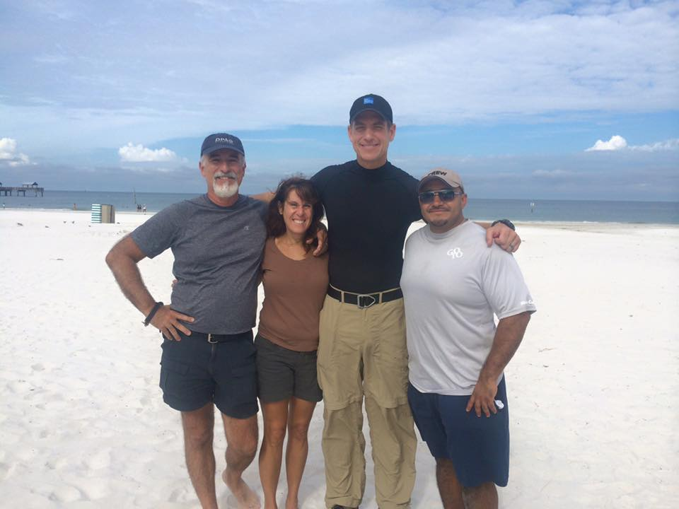 twc 21 Miami Crew Hits The Beach For Tropical Storm Erika   Part 1