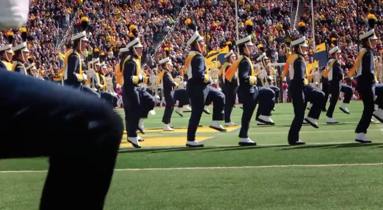 Screen Shot 2015 09 16 at 12.35.37 PM DC Crew Makes Some Noise With The Big Ten Marching Bands