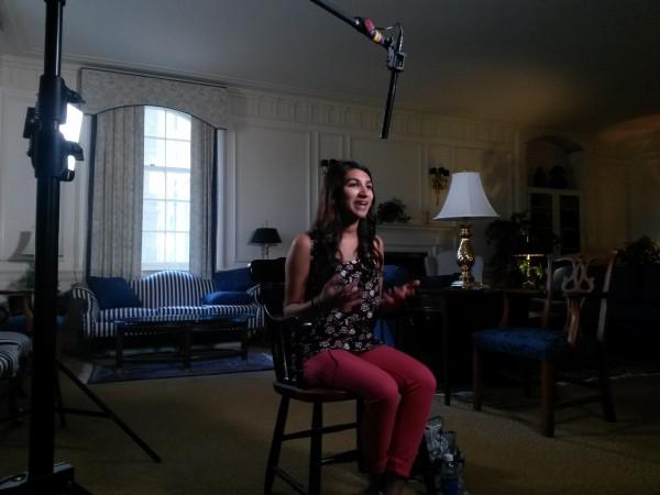 Neha Gupta 2 600x450 DC Crew Filmed LiveBIG Spotlighting Penn State Student