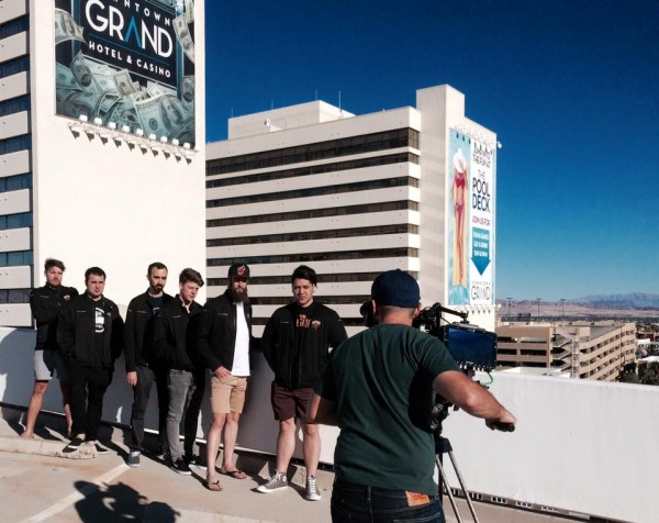 vegas 600x476 LA Crew Goes to the Land Down Under with Turner Sports