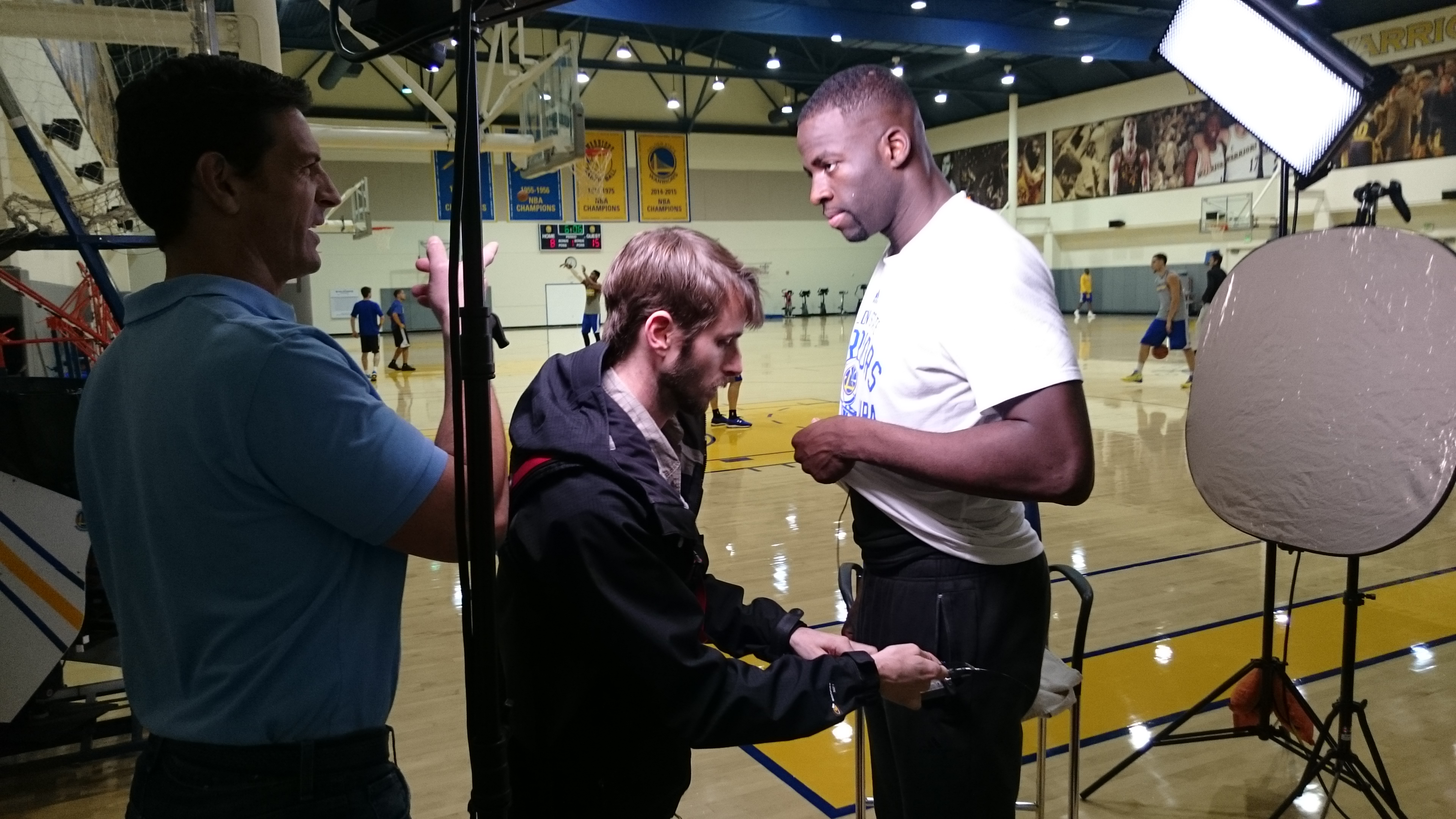 DSC 0102 San Francisco Crew Changes the Game with Draymond Green
