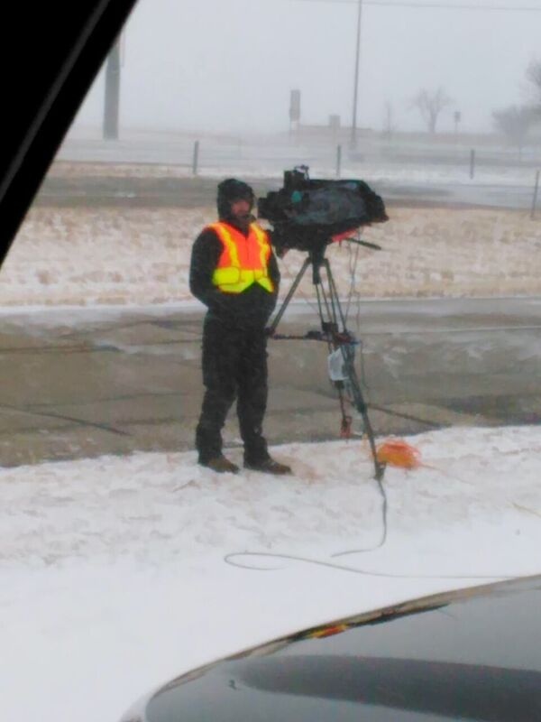nate 3 Dallas Crew Makes Cold TV for The Weather Channel