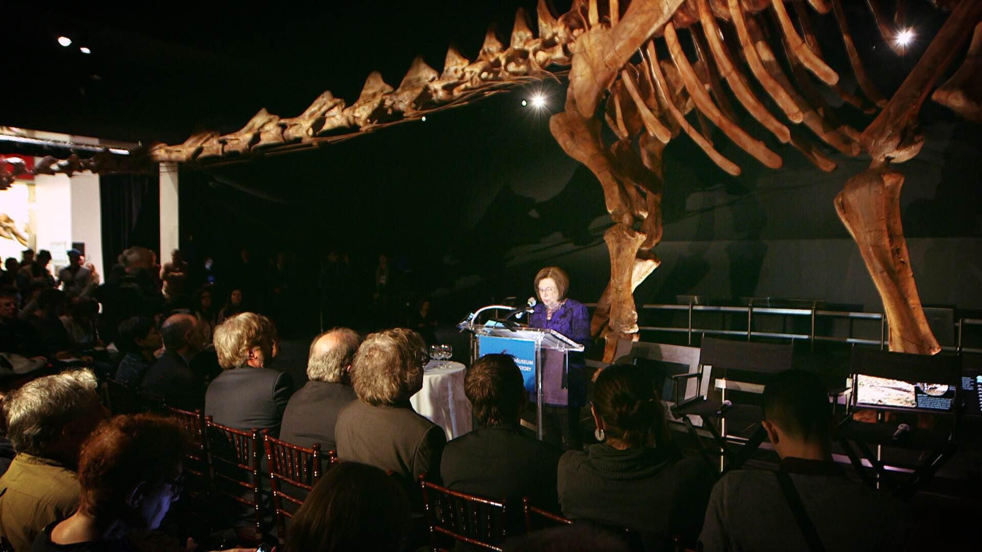 IMG 5089 2 New York City Crew Roars with Titanosaurus Rex at Museum