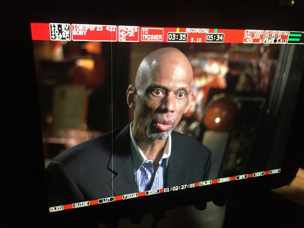 unnamed LA Crew Celebrates MLK Day with Kareem Abdul Jabbar